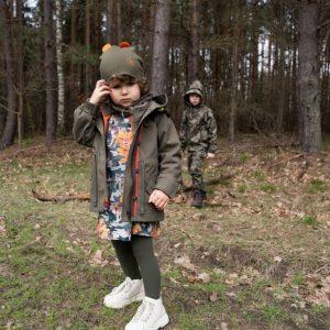 kurtka na grzyby idealna do lasu kurtka kurtka nieprzemakalna dla dzieci