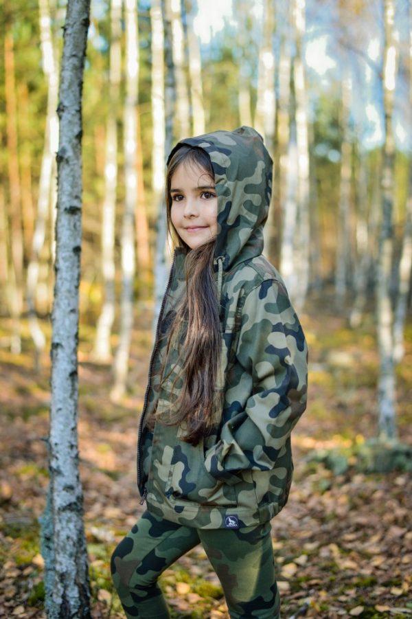 kurtka dziecięca wiosenna moro