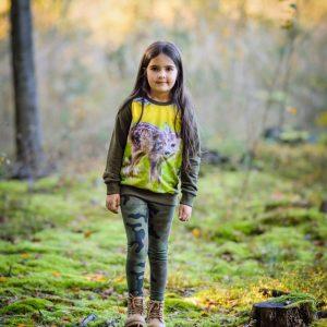 bluza z sarenką dla dzieci
