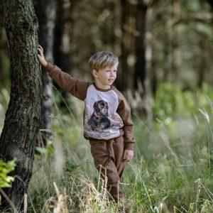 Dziecięca bluza z psem WADERA