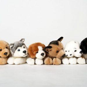 Maskotka piesek lezący Uni-toys