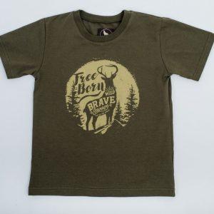 t-shirt koszulka z jeleniem