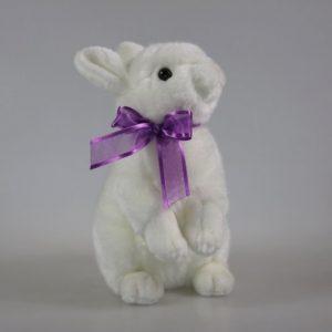 Maskotka królik biały Unitoys