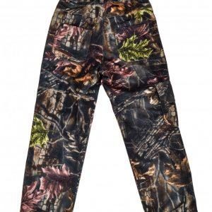 dziecięce spodnie kamulaż leśny