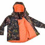 kurtka kamuflaż dla dzieci
