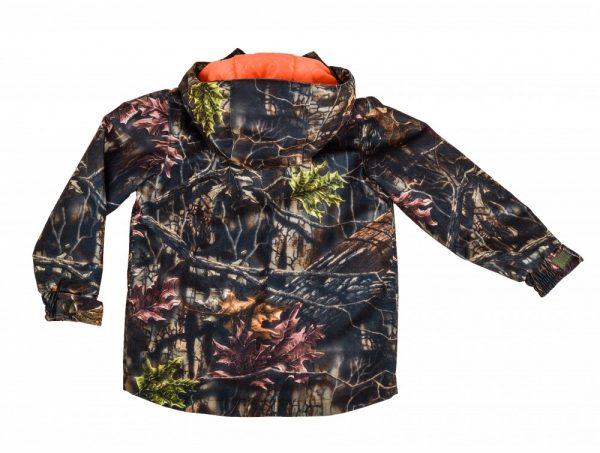 kurtka kamuflaż leśny dla dzieci