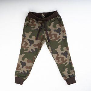 Bawełniane wygodne spodnie dziecięce dla dziecka moro ubranka moro dla dzieci spodnie dresowe moro